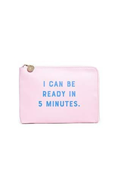 Shopbop @Home I Can Be Ready in 5 Minutes Clutch