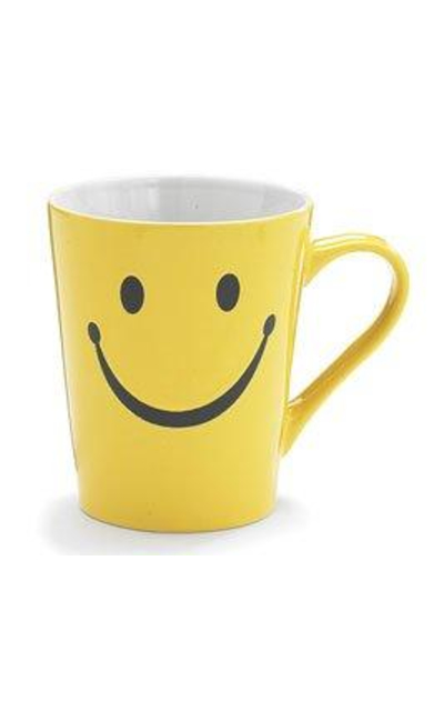 1 X Smiley Happy Face Mug/Cup
