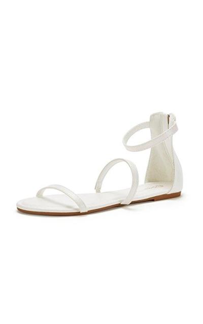 DREAM PAIRS Strap Flat Sandals