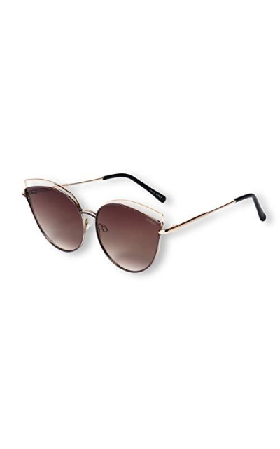 EVEE Oversize Double Wire Cat-Eye Sunglasses