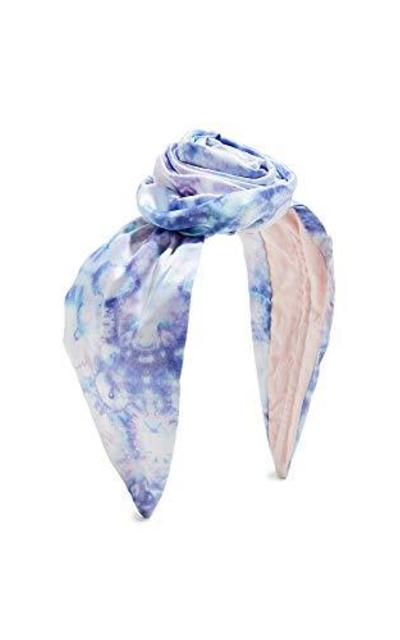 NAMJOSH Tie Dye Bun Headband