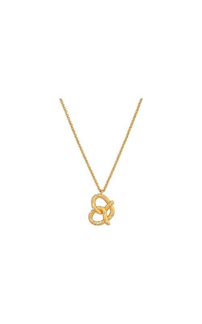 Kate Spade New York Dashing Beauty Pretzel Mini Pendant Necklace