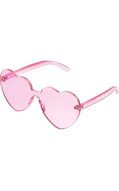Maxdot Heart Shape Sunglasses