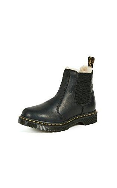 Dr. Martens Leonore Burnished Wyoming Leather Boot