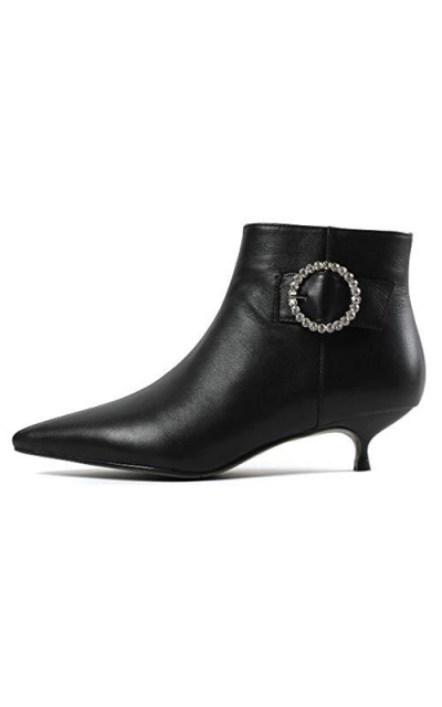 MERUMOTE Jeweled Ankle Boots