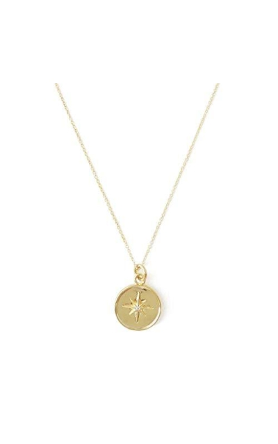 HONEYCAT Starburst Pendant Necklace