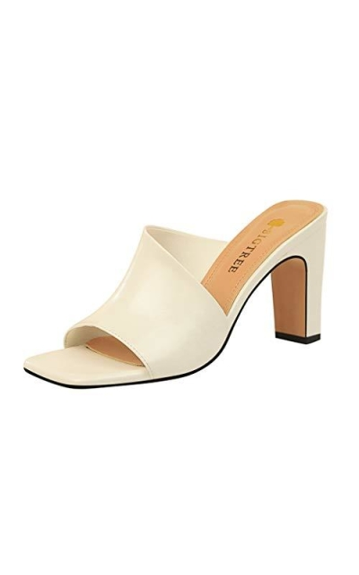 GCOCO High Heel Slide Sandals
