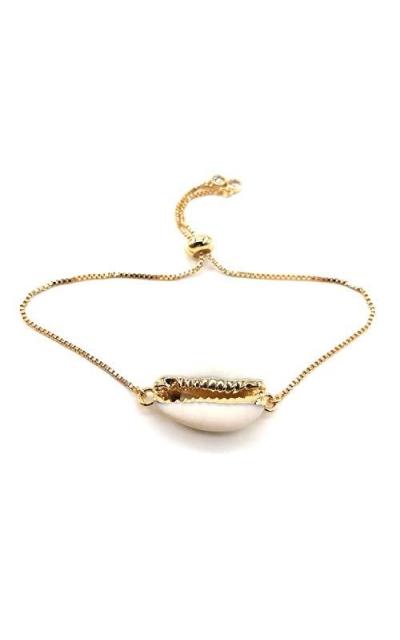 LESLIE BOULES Sea Shell Bracelet