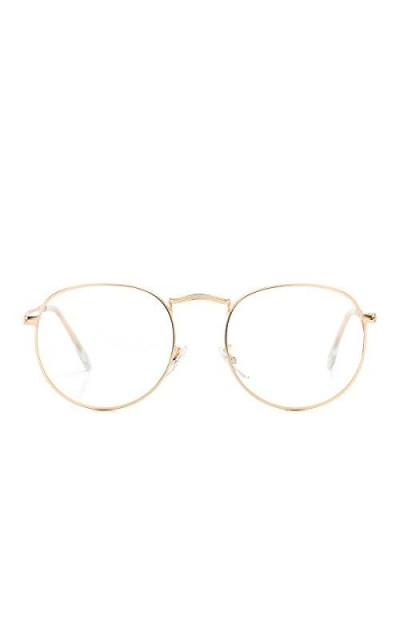 AZORB Round Clear Lens Glasses