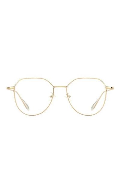 TIJN Pilot Irregular Metal Eyeglasses