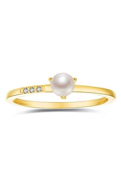 Blossom & Hue Mini Pearl Ring