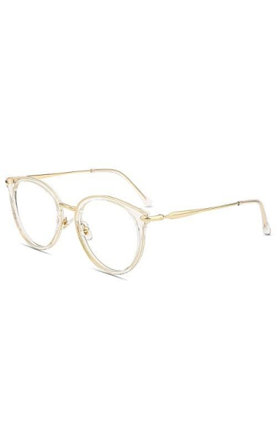 Firmoo Round Oversize Blue Light Blocking Glasses