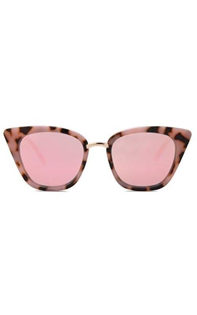 SOJOS Cat Eye Designer Sunglasses