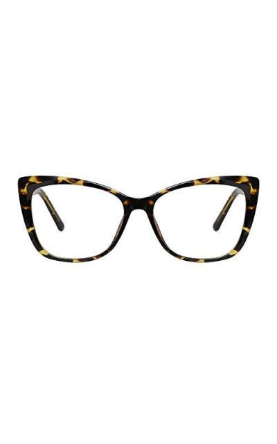 Cat Eye Leopard Frame Blue Light Computer Glasses
