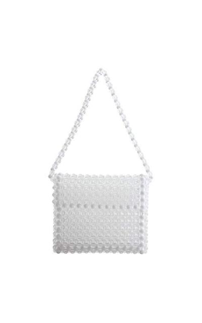 LETODE Clear Beaded Bag