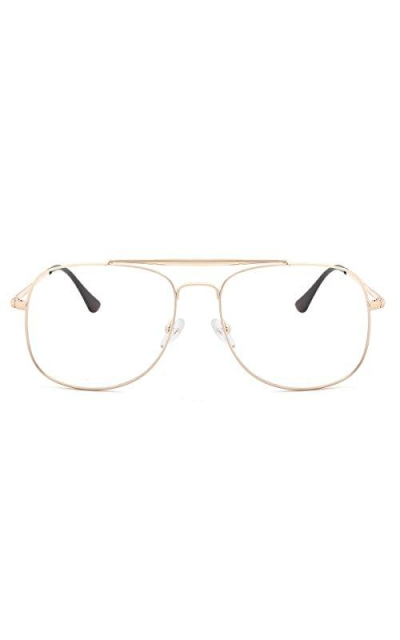 O-Q CLUB Aviator Blue Light Blocking Glasses