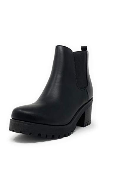 SODA Jabber Lug Sole Chelsea Boots