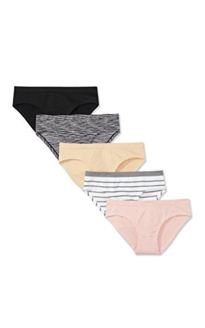 Mae Seamless Hipster Panty, 5 pack