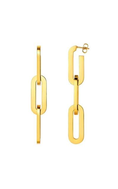 Oversize Chain Earrings