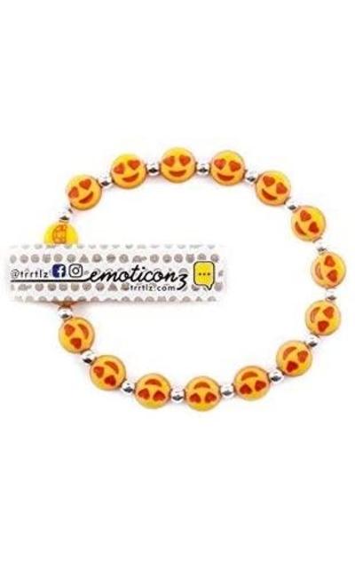 Trrtlz Emojiz  Bracelets 10 Pack