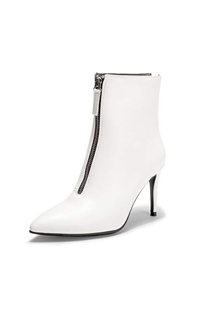 IDIFU Pointed Toe Ankle Booties