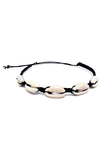 Cowrie Hawaiian Natural Shell Bead Bracelet