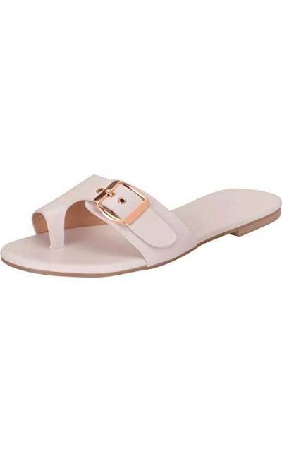 Cambridge Select Toe Ring Buckle Sandal