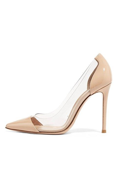 Sammitop High Heels Patent Pumps