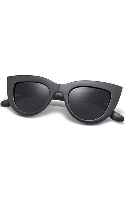 Joopin Retro Polarized Cateye Sunglasses