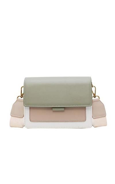 Young for U Colorblock Shoulder Bag