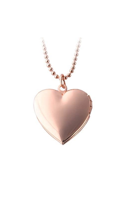 POWER WING Heart Locket Necklace