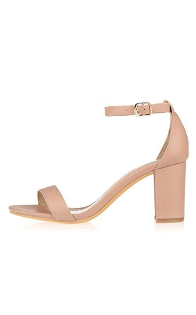 ZriEy Ankle Band Classic Open Toe Shoes