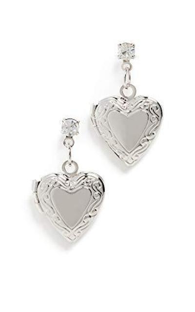 Shashi Heart of Steel Earrings
