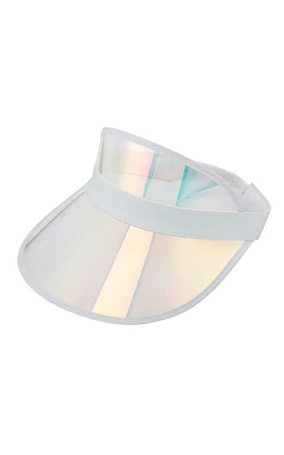 Sun Visor Hats Summer Cap Plastic Visor