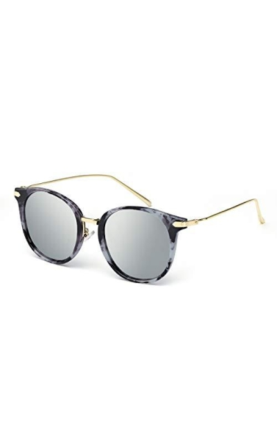 TJUTR Fashion Mirrored Sunglasses