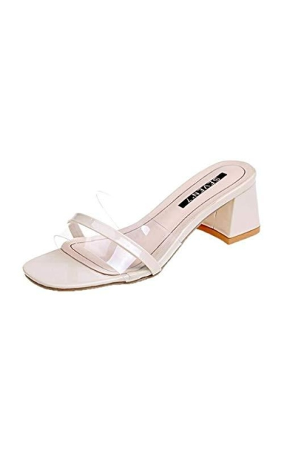 MIOKE Low Block Heel Slide Sandals