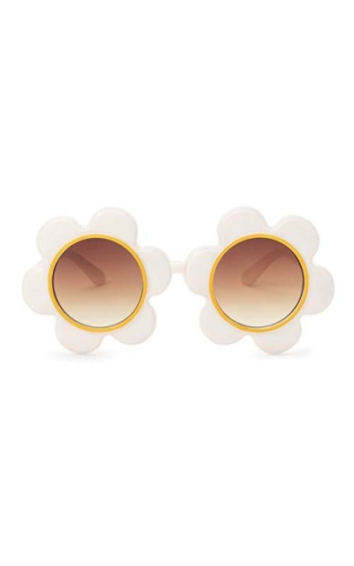 ban.do Novelty Non-Polarized Round Flower Shaped Sunglasses