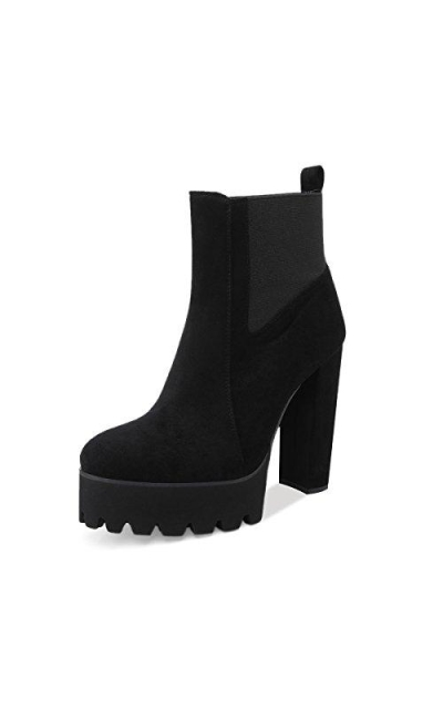 Onlymaker Comfy Elastic Platform Boots