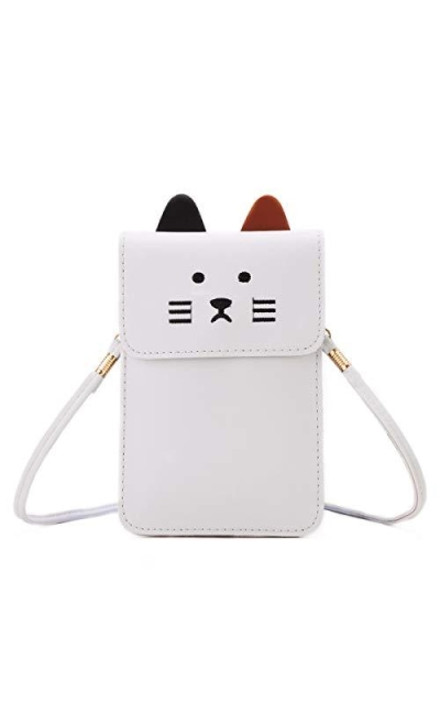 Small Cat Crossbody Bag