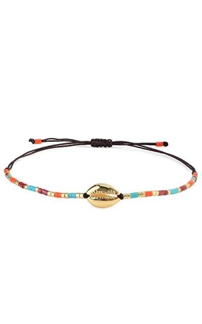 C·QUAN CHI Woven Strand Bracelet