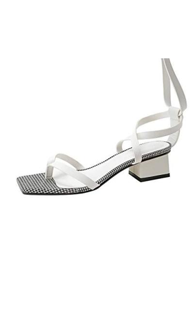 Block Low Heels Sandals