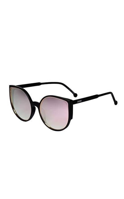EVEE Oversize Flat Cat-Eye Retro Sunglasses