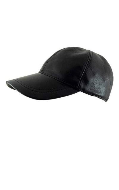 Adjustable Genuine Leather Baseball Cap