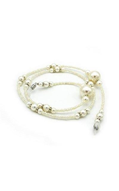 Maxloom Pearl Beaded Eyeglass Chain