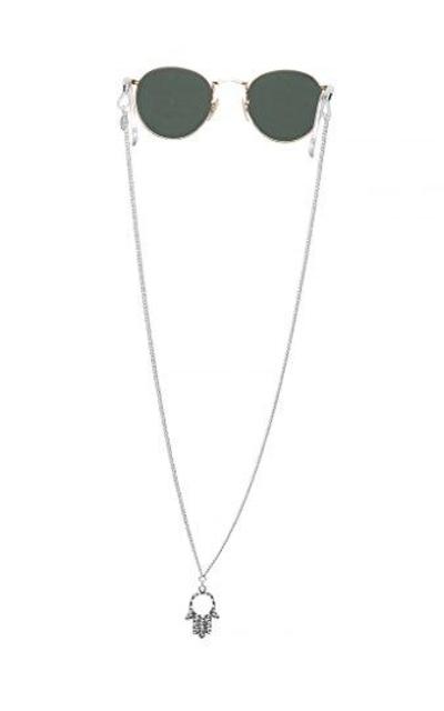 Sintillia Hamsa Hand Backlace Sunglass Chain