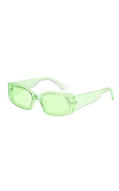 FEISEDY Creative Rectangle Sunglasses
