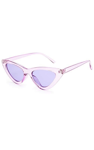 Livhò Retro Vintage Narrow Cat Eye Sunglasses
