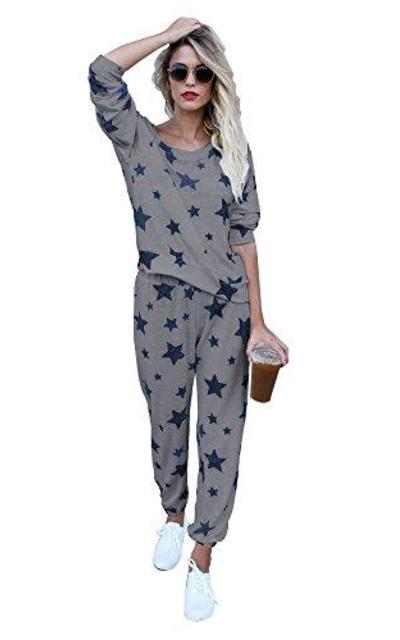 Mycherish Star Pattern Pajamas