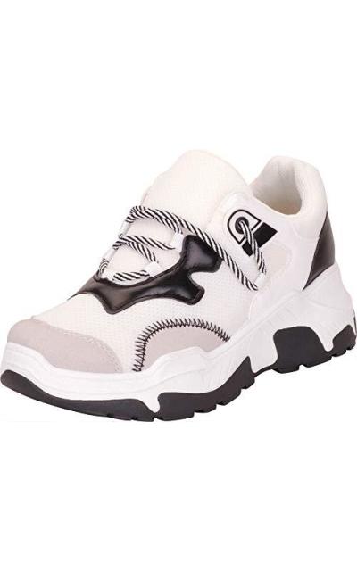 Cambridge Select Retro 90s Rave Sneakers