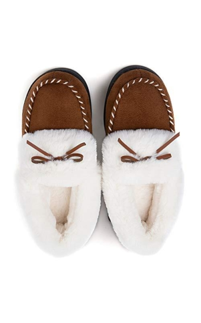 RockDove Trapper Moc Memory Foam Slipper